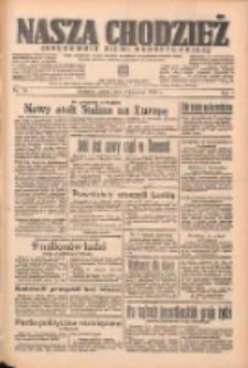 Nasza Chodzież: organ poświęcony obronie interesów narodowych na zachodnich ziemiach Polski 1938.04.02 R.9 Nr76