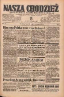 Nasza Chodzież: organ poświęcony obronie interesów narodowych na zachodnich ziemiach Polski 1938.04.21 R.9 Nr91