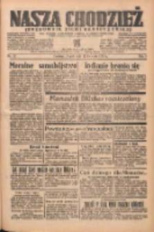 Nasza Chodzież: organ poświęcony obronie interesów narodowych na zachodnich ziemiach Polski 1938.04.22 R.9 Nr92