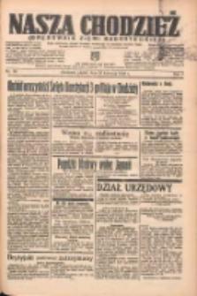 Nasza Chodzież: organ poświęcony obronie interesów narodowych na zachodnich ziemiach Polski 1938.04.29 R.9 Nr98