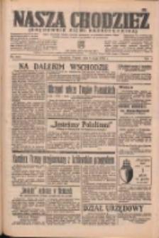 Nasza Chodzież: organ poświęcony obronie interesów narodowych na zachodnich ziemiach Polski 1938.05.06 R.9 Nr103