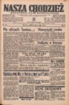Nasza Chodzież: organ poświęcony obronie interesów narodowych na zachodnich ziemiach Polski 1938.05.08 R.9 Nr105