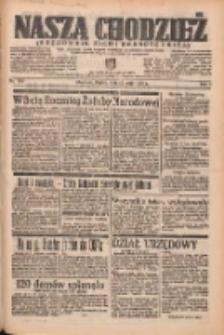 Nasza Chodzież: organ poświęcony obronie interesów narodowych na zachodnich ziemiach Polski 1938.05.13 R.9 Nr109