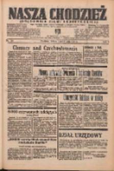 Nasza Chodzież: organ poświęcony obronie interesów narodowych na zachodnich ziemiach Polski 1938.05.14 R.9 Nr110
