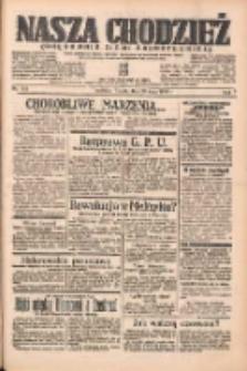 Nasza Chodzież: organ poświęcony obronie interesów narodowych na zachodnich ziemiach Polski 1938.05.20 R.9 Nr115