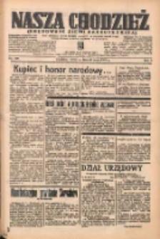 Nasza Chodzież: organ poświęcony obronie interesów narodowych na zachodnich ziemiach Polski 1938.05.26 R.9 Nr120