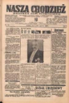Nasza Chodzież: organ poświęcony obronie interesów narodowych na zachodnich ziemiach Polski 1938.06.01 R.9 Nr124
