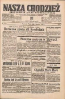 Nasza Chodzież: organ poświęcony obronie interesów narodowych na zachodnich ziemiach Polski 1938.06.03 R.9 Nr126