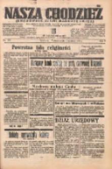 Nasza Chodzież: organ poświęcony obronie interesów narodowych na zachodnich ziemiach Polski 1938.06.12 R.9 Nr133