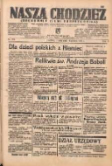 Nasza Chodzież: organ poświęcony obronie interesów narodowych na zachodnich ziemiach Polski 1938.06.14 R.9 Nr134