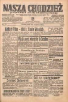 Nasza Chodzież: organ poświęcony obronie interesów narodowych na zachodnich ziemiach Polski 1938.06.15 R.9 Nr135