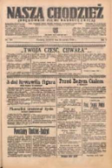 Nasza Chodzież: organ poświęcony obronie interesów narodowych na zachodnich ziemiach Polski 1938.06.16 R.9 Nr136
