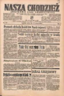 Nasza Chodzież: organ poświęcony obronie interesów narodowych na zachodnich ziemiach Polski 1938.06.18 R.9 Nr137