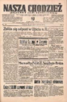 Nasza Chodzież: organ poświęcony obronie interesów narodowych na zachodnich ziemiach Polski 1938.06.21 R.9 Nr139