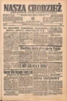 Nasza Chodzież: organ poświęcony obronie interesów narodowych na zachodnich ziemiach Polski 1938.06.22 R.9 Nr140