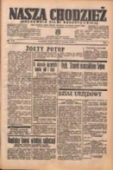 Nasza Chodzież: organ poświęcony obronie interesów narodowych na zachodnich ziemiach Polski 1938.06.24 R.9 Nr142