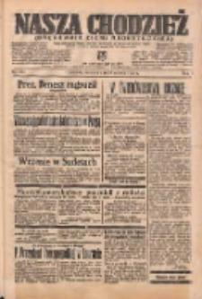 Nasza Chodzież: organ poświęcony obronie interesów narodowych na zachodnich ziemiach Polski 1938.06.26 R.9 Nr144