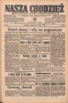 Nasza Chodzież: organ poświęcony obronie interesów narodowych na zachodnich ziemiach Polski 1938.07.12 R.9 Nr156
