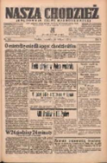 Nasza Chodzież: organ poświęcony obronie interesów narodowych na zachodnich ziemiach Polski 1938.07.14 R.9 Nr158
