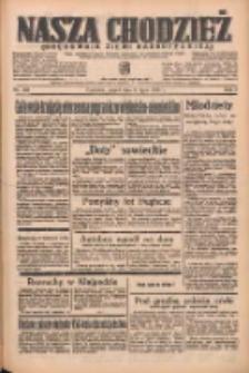 Nasza Chodzież: organ poświęcony obronie interesów narodowych na zachodnich ziemiach Polski 1938.07.15 R.9 Nr159