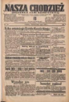 Nasza Chodzież: organ poświęcony obronie interesów narodowych na zachodnich ziemiach Polski 1938.07.03 R.9 Nr149