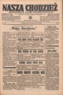 Nasza Chodzież: organ poświęcony obronie interesów narodowych na zachodnich ziemiach Polski 1938.07.24 R.9 Nr167