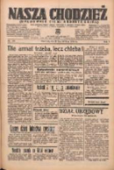 Nasza Chodzież: organ poświęcony obronie interesów narodowych na zachodnich ziemiach Polski 1938.07.26 R.9 Nr168
