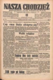 Nasza Chodzież: organ poświęcony obronie interesów narodowych na zachodnich ziemiach Polski 1938.08.02 R.9 Nr174