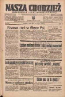 Nasza Chodzież: organ poświęcony obronie interesów narodowych na zachodnich ziemiach Polski 1938.08.17 R.9 Nr186