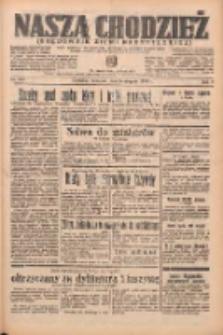 Nasza Chodzież: organ poświęcony obronie interesów narodowych na zachodnich ziemiach Polski 1938.08.25 R.9 Nr193