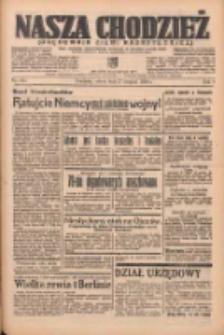 Nasza Chodzież: organ poświęcony obronie interesów narodowych na zachodnich ziemiach Polski 1938.08.27 R.9 Nr195