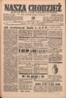 Nasza Chodzież: organ poświęcony obronie interesów narodowych na zachodnich ziemiach Polski 1938.09.03 R.9 Nr201