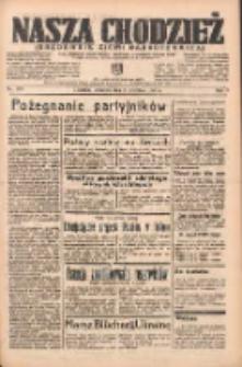 Nasza Chodzież: organ poświęcony obronie interesów narodowych na zachodnich ziemiach Polski 1938.09.08 R.9 Nr205