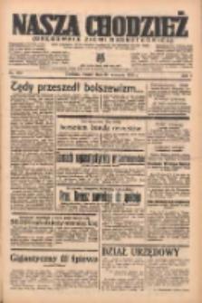 Nasza Chodzież: organ poświęcony obronie interesów narodowych na zachodnich ziemiach Polski 1938.09.13 R.9 Nr209