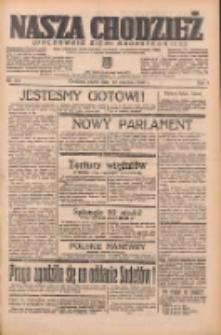 Nasza Chodzież: organ poświęcony obronie interesów narodowych na zachodnich ziemiach Polski 1938.09.23 R.9 Nr218