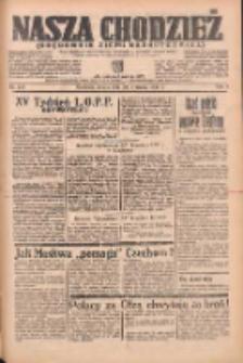 Nasza Chodzież: organ poświęcony obronie interesów narodowych na zachodnich ziemiach Polski 1938.09.24 R.9 Nr219