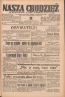 Nasza Chodzież: organ poświęcony obronie interesów narodowych na zachodnich ziemiach Polski 1938.10.01 R.9 Nr225