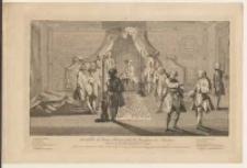 Assemblée de Francs-Maçons pour la Reception des Maitres: Entrée du Recipiendaire dans la Loge