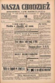Nasza Chodzież: organ poświęcony obronie interesów narodowych na zachodnich ziemiach Polski 1938.10.28 R.9 Nr248