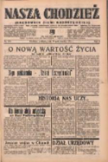 Nasza Chodzież: organ poświęcony obronie interesów narodowych na zachodnich ziemiach Polski 1938.10.30 R.9 Nr250
