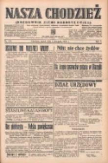 Nasza Chodzież: organ poświęcony obronie interesów narodowych na zachodnich ziemiach Polski 1938.11.04 R.9 Nr253