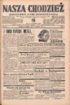 Nasza Chodzież: organ poświęcony obronie interesów narodowych na zachodnich ziemiach Polski 1938.11.06 R.9 Nr255