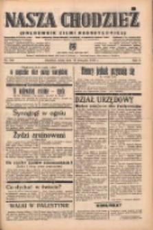 Nasza Chodzież: organ poświęcony obronie interesów narodowych na zachodnich ziemiach Polski 1938.11.16 R.9 Nr262