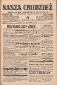 Nasza Chodzież: organ poświęcony obronie interesów narodowych na zachodnich ziemiach Polski 1938.11.22 R.9 Nr267
