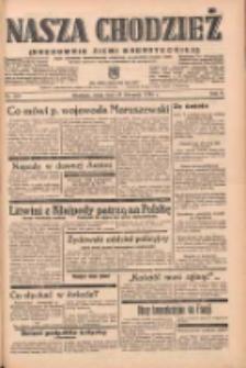 Nasza Chodzież: organ poświęcony obronie interesów narodowych na zachodnich ziemiach Polski 1938.11.23 R.9 Nr268