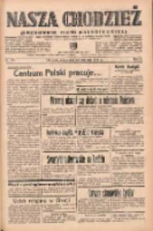 Nasza Chodzież: organ poświęcony obronie interesów narodowych na zachodnich ziemiach Polski 1938.11.26 R.9 Nr271