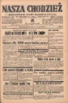 Nasza Chodzież: organ poświęcony obronie interesów narodowych na zachodnich ziemiach Polski 1938.11.27 R.9 Nr272