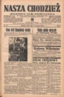 Nasza Chodzież: organ poświęcony obronie interesów narodowych na zachodnich ziemiach Polski 1938.11.29 R.9 Nr273