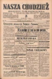 Nasza Chodzież: organ poświęcony obronie interesów narodowych na zachodnich ziemiach Polski 1938.11.30 R.9 Nr274