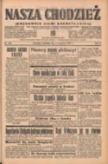 Nasza Chodzież: organ poświęcony obronie interesów narodowych na zachodnich ziemiach Polski 1938.12.11 R.9 Nr283